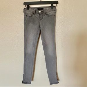 Gray Ankle Jeggings